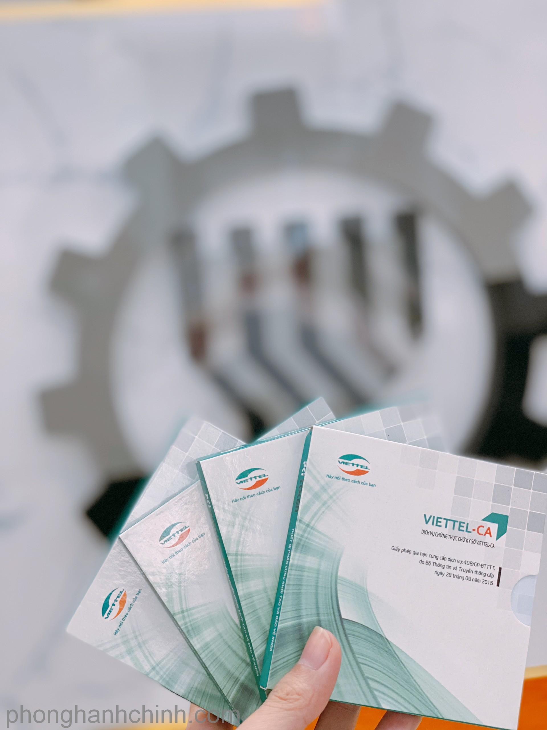 Chữ ký số Viiettel-CA